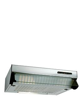 beko-hbv60x-60cm-visor-cooker-hood-with-optional-connection-stainless-steel