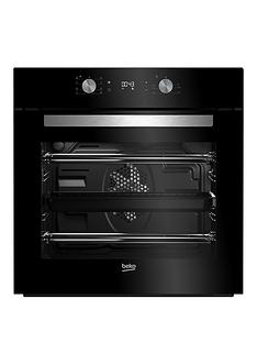 beko-bim14300bc-60cm-built-in-electric-single-oven-with-optional-connection-black