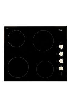 beko-hic64102-60cm-built-in-ceramic-electric-hob-black