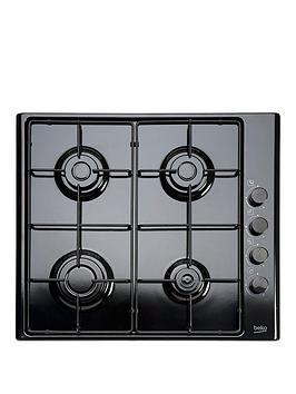 beko-hizg64120sb-60cm-built-in-gas-hob-with-fsd-and-optional-connection-black