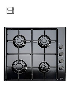 beko-hizg64120sb-60cm-built-in-gas-hob-with-fsdnbspand-optional-connection-black