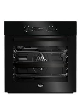 beko-bif22300b-60cm-built-in-electric-single-oven-with-optional-connection-black