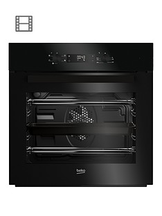 beko-bif22300b-built-in-electric-single-oven-black