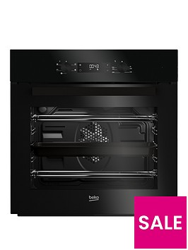 beko-bif22300b-built-in-electric-single-oven-with-optional-connection-black