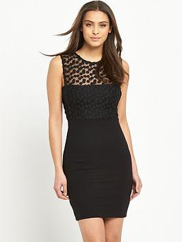 french-connection-chelsea-beau-dress-black