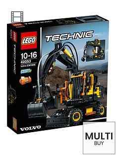 lego-technic-ew160e-volvo-42053-amp-free-lego-city-brickmaster