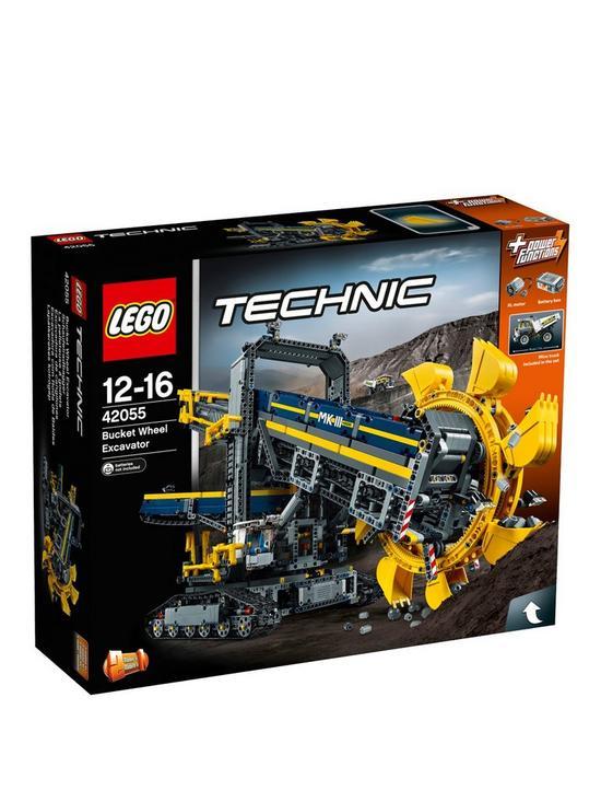 bea1f14d22 LEGO Technic 42055 Bucket Wheel Excavator