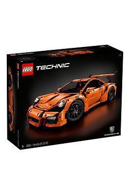 Photo of Lego technic porsche 911 gte rs sports car 42056