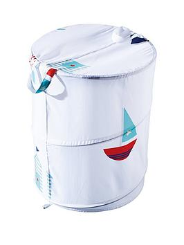 Aqualona  Beach Hut Pop-Up Laundry Bin