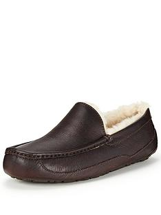 ugg-australia-ascot-leather-slippers