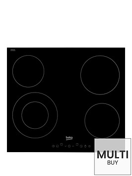 beko-hic64402t-60cm-built-in-ceramic-hob-with-optional-connection-black