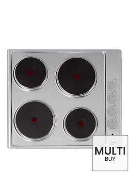 beko-hize64101x-60cm-built-in-sealed-plate-hob-with-optional-connection-silver