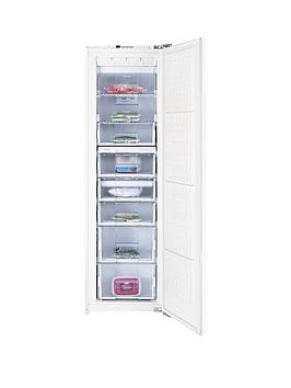 Beko Bz77F 54.5Cm Built-In Tall Frost Free Freezer - White - Freezer With Connection