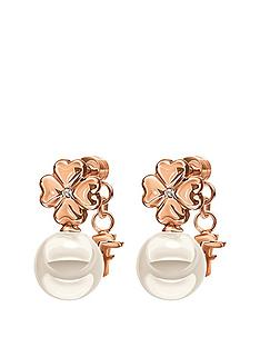 folli-follie-grace-rose-gold-plated-shell-coated-flower-earrings