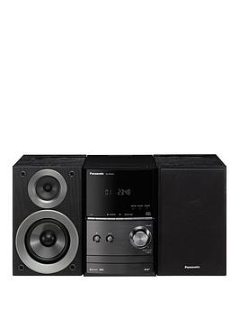 Panasonic Sc-Pm602Eb Cd Micro Hi-Fi System With Bluetooth - Black