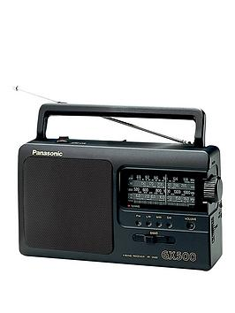 Panasonic Rf-3500 Portable Radio - Black