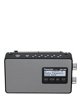 Panasonic Rf-D10Eb-K Dab &Amp; Dab+ Compatible Radio - Black