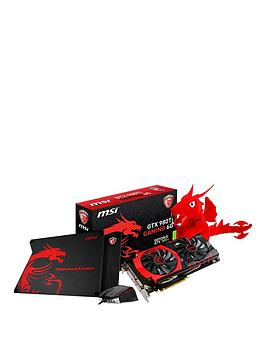 msi-gtx980ti-6gb-gddr5-graphics-card-with-interceptor-ds200-mouse-thunderstorm-aluminium-mat-and-toy-limited-edition-pc-gaming-bundle