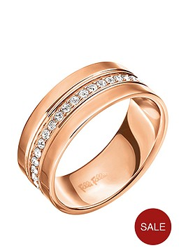 folli-follie-touch-rose-gold-plated-crystal-set-ring