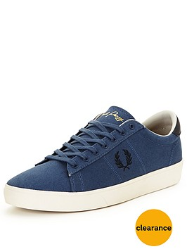 fred-perry-spencer-canvas-trainer-blue