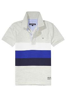 tommy-hilfiger-boys-jersey-stripe-grey-polo
