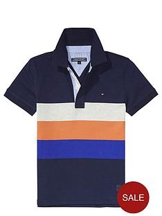 tommy-hilfiger-boys-jersey-stripe-navy-polo