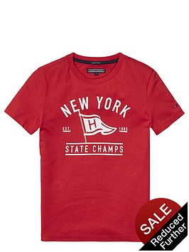 tommy-hilfiger-ss-flag-tee-red