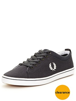fred-perry-hallam-canvasnbspplimsolls