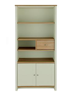 consort-consort-tivoli-sage-ready-assembled-storage-bookcase