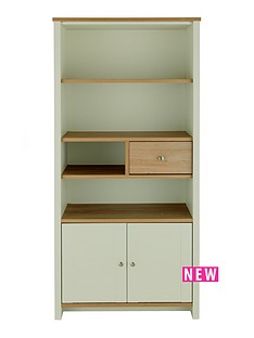 consort-tivoli-sage-ready-assembled-storage-bookcase