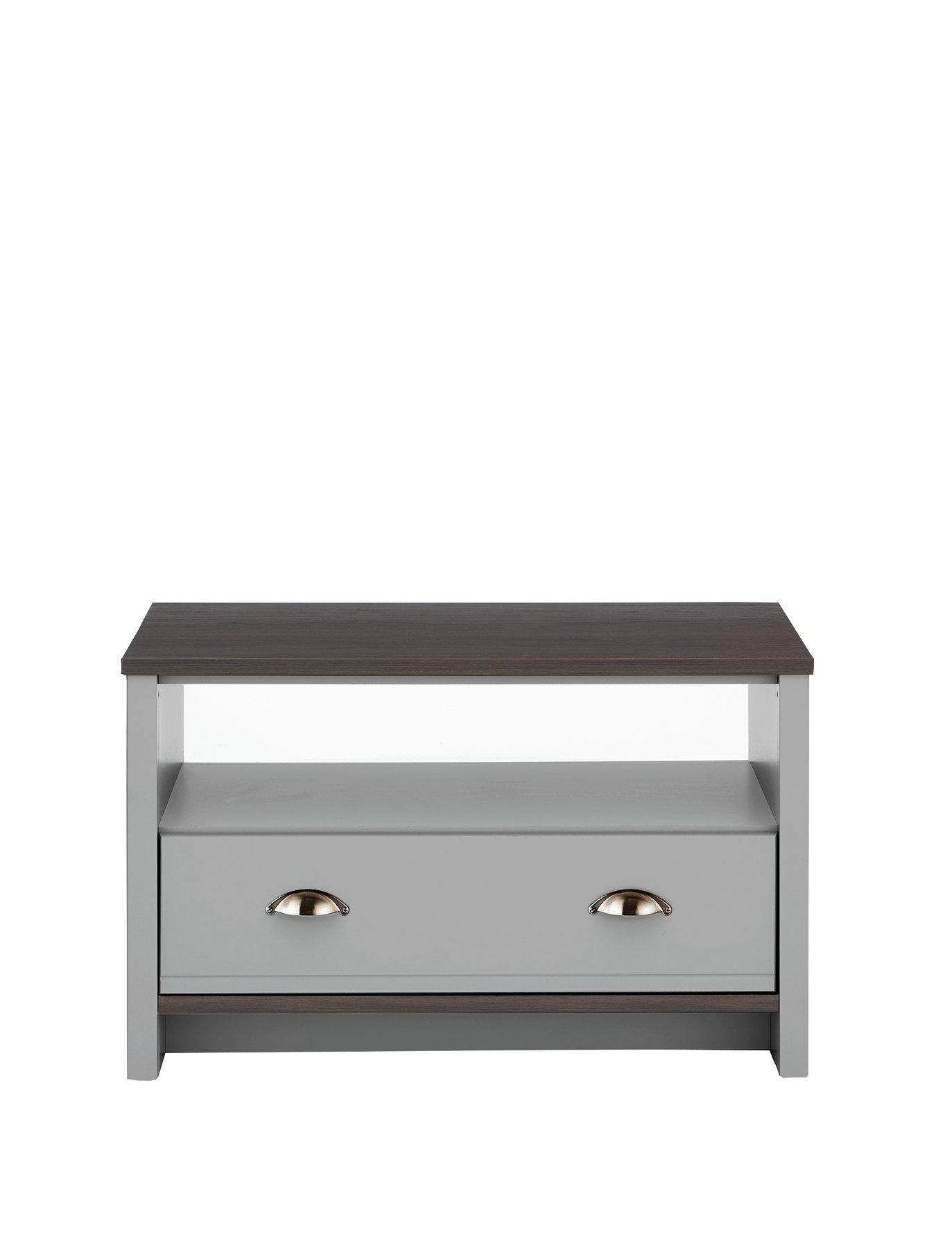 Consort Tivoli Grey Ready Assembled Coffee Table 5 Day Express Delivery