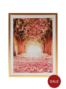 arthouse-floral-tree-print-in-copper-frame