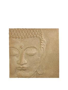 arthouse-glitter-buddha-canvas-in-gold