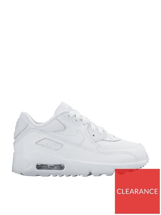 feb96be905 Nike Air Max 90 Mesh Junior - White | very.co.uk