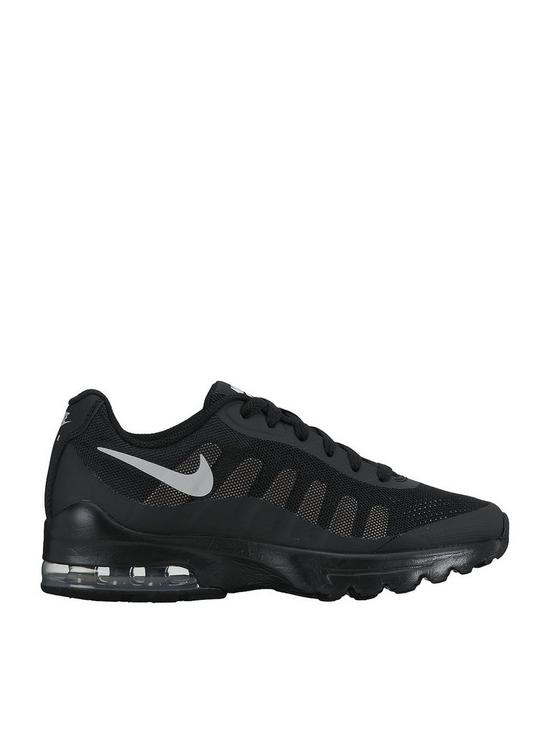 44d3058351 Nike Air Max Invigor Junior Trainer - Black | very.co.uk