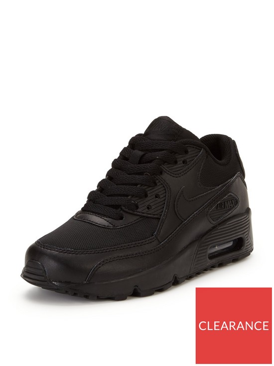 466d36f666c7 Nike Air Max 90 Junior Mesh Trainers