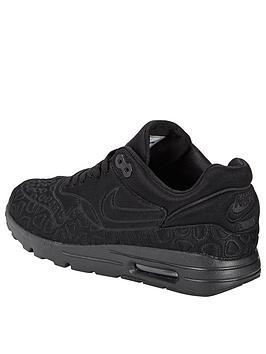 trhmp Nike Air Max 1 SE (Plush) Shoe - Black | very.co.uk