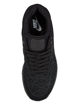 cfpan Nike Air Max 1 SE (Plush) Shoe - Black | very.co.uk