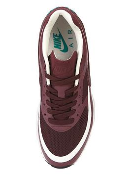 xhrvx Nike Air Max BW Ultra Fashion Trainer - Burgundy | very.co.uk