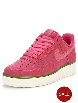 nike-air-force-1-07-suede-shoe-pink