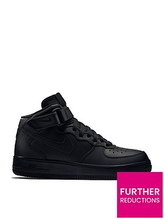 in stock 3e88b 2f8ce Nike Air Force 1 Mid 06 Junior Trainer
