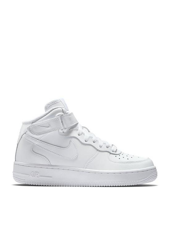 in stock 01155 ccdaa Nike Air Force 1 Mid 06 Junior Trainer