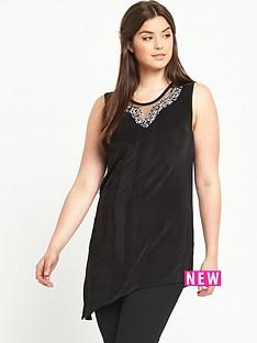 so-fabulous-sleeveless-embellished-neck-asymmetric-hem-top
