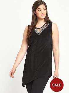 so-fabulous-sleeveless-embellished-neck-asymmetric-hem-top