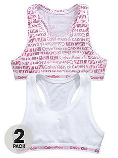 calvin-klein-girls-logo-bralettesnbspwhiteviva-pink-2-pack