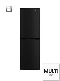 swan-sr70140bnbsp55cm-static-fridge-freezer-black
