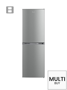 swan-sr70140s-55cm-static-fridge-freezer-silver