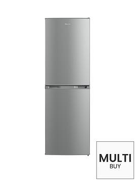 swan-sr70140s-55cm-static-fridge-freezer-silver