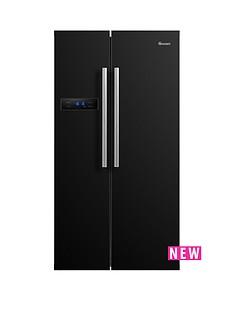 swan-90cm-american-style-double-door-fridge-freezer-black