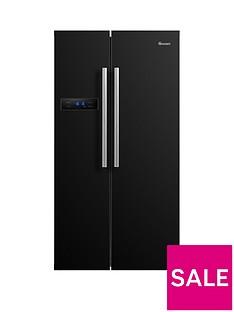 Swan SR70120B90cm American-Style Double Door Frost-Free Fridge Freezer